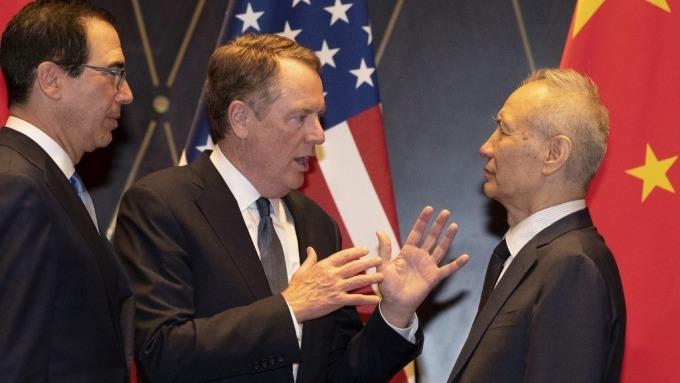 搶在美中簽署協議前一天 美歐日官員會談中國政策與補貼問題  (圖:AFP)
