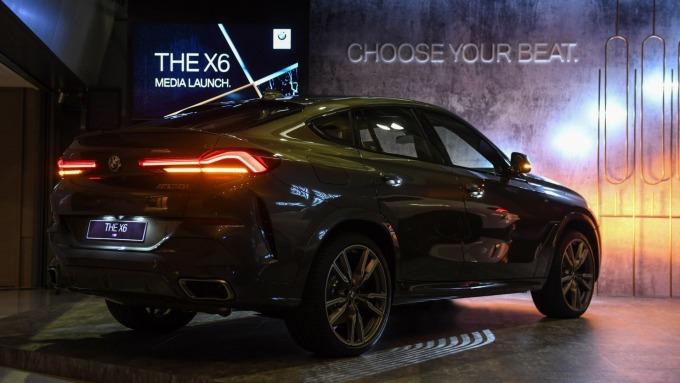 BMW X6大改款預計2月抵台。(圖:汎德永業提供)