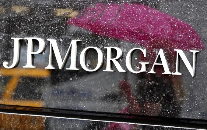 摩根大通第四季淨利年增21%。(圖片:AFP)