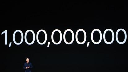 分析師大膽預測:明年底蘋果市值有望破2兆美元大關(圖片:AFP)