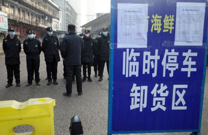 日本當局證實 該國發現武漢肺炎首例!(圖片:AFP)