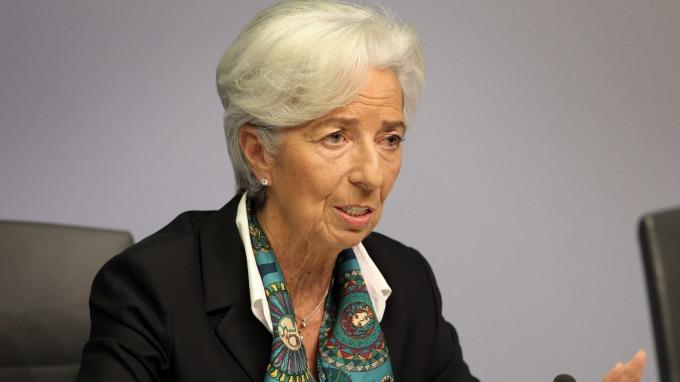歐洲央行總裁拉加德稱歐元是支稱歐盟經濟繁榮關鍵(圖片:AFP)