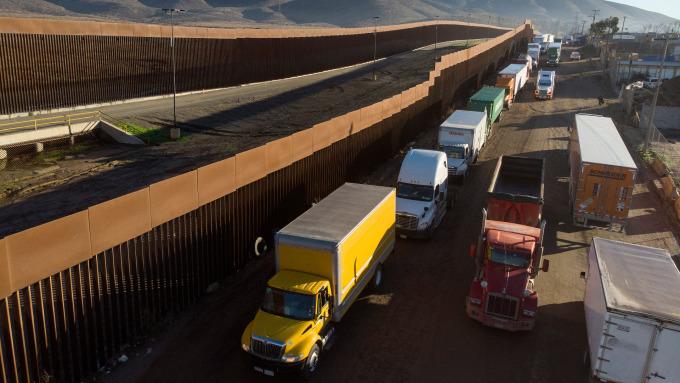 美國貨運量年減7.9% 創2009年以來最大跌幅 (圖片:AFP)