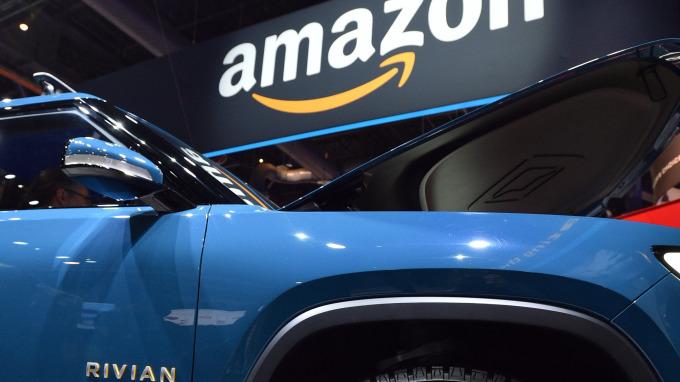 亞馬遜積極投入汽車科技(圖片:AFP)