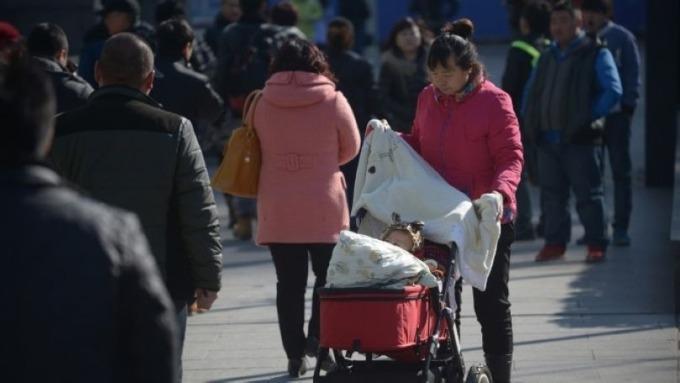 中國2019年人口出生率 創1949年來最低 (圖片:AFP)