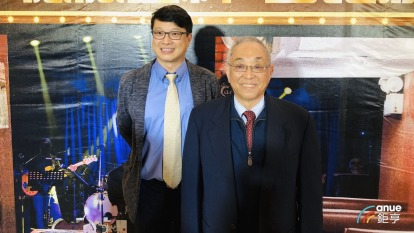 右為達爾總裁盧克修、左為達爾亞太區總裁虞凱行。(鉅亨網資料照)