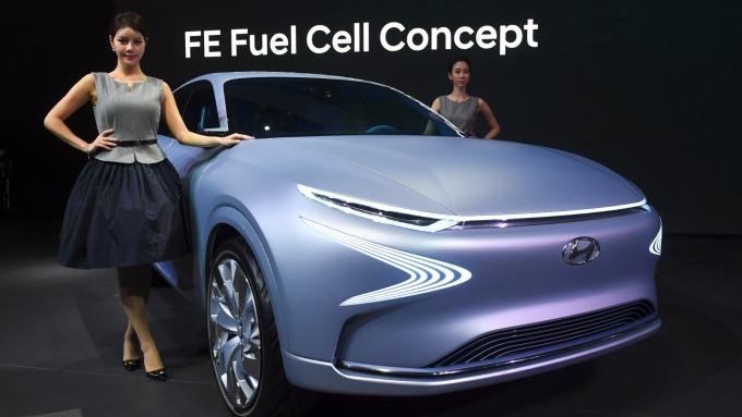 現代汽車與LG結盟 將共同生產EV用電池 (圖片:AFP)