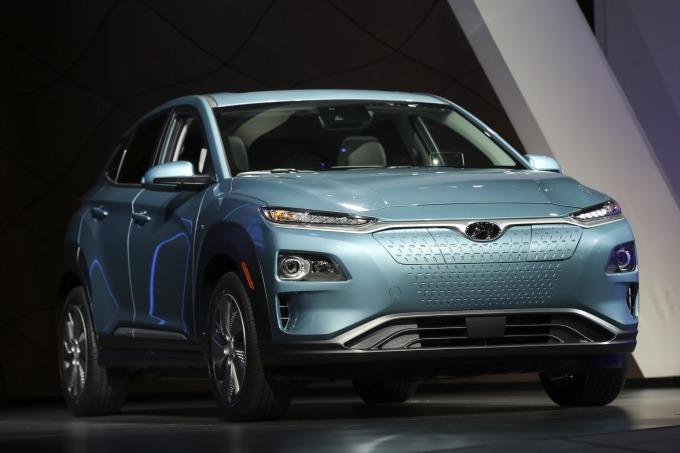 現代汽車與 LG 結盟 將共同生產 EV 用電池 (圖片:AFP)