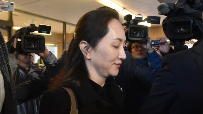 孟晚舟引渡案開庭 辯護團隊稱美國的欺詐指控只是「幌子」(圖:AFP)