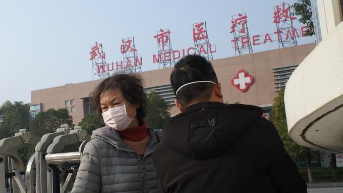 香港大學:武漢市肺炎感染估超1300人 春運恐加速疫情擴散 (圖片:AFP)