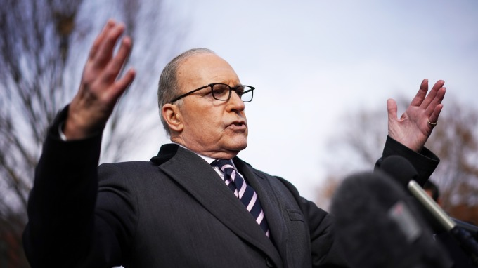 白宮經濟顧問庫德洛(Larry Kudlow)(圖:AFP)