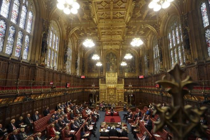 英國上議院 (圖: AFP)