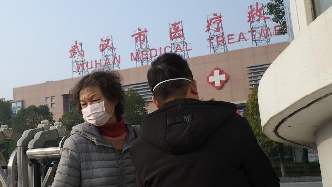 〈武漢肺炎疫情升溫〉南韓新增4名疑似病例 目前正進行檢驗 (圖片:AFP)