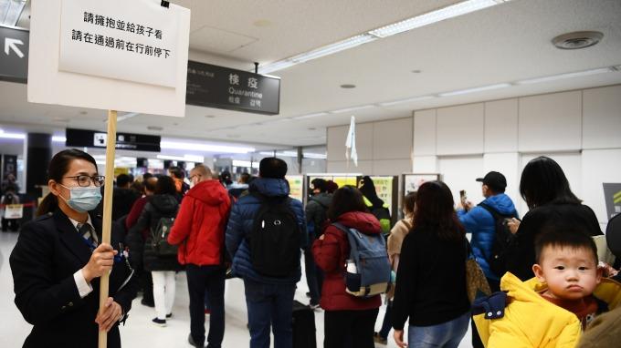 武漢疫情已超過600例 陸港股封關重挫(圖片:AFP)