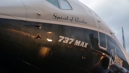 波音多空交錯的一天:FAA可能提前認證737 Max 但夢幻機將減產(圖:AFP)