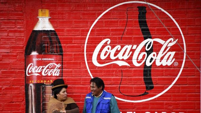 Q4營收優預期 可口可樂上調今年營運目標 (圖:AFP)