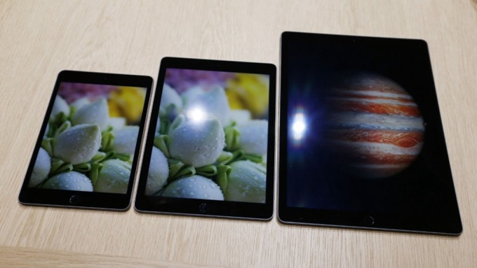 蘋果平價款平板刺激買氣今年可望再改款,助瑞儀營運升溫。(圖:AFP)