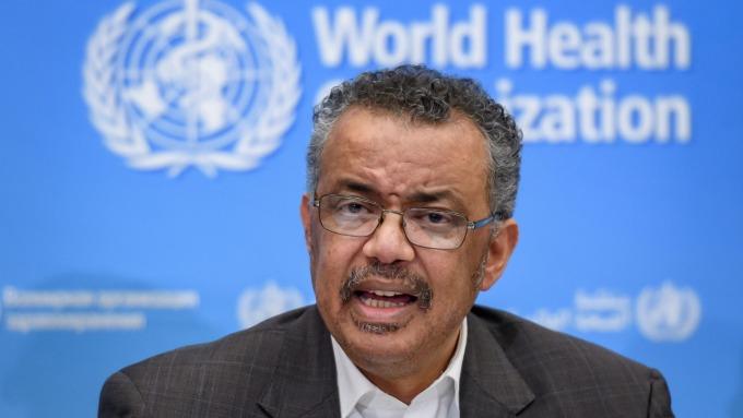世衛「肺」話連篇!譚德塞:這很危險!全球可能對武漢疫情毫無準備。(圖片:AFP)