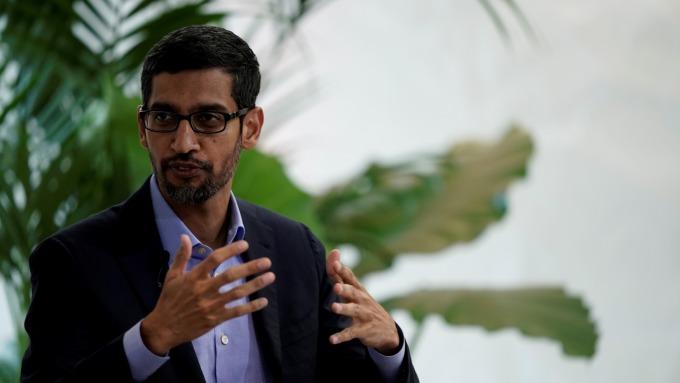 為何谷歌終於公布YouTube和雲端業務數據?只因為Pichai上台了(圖:AFP)