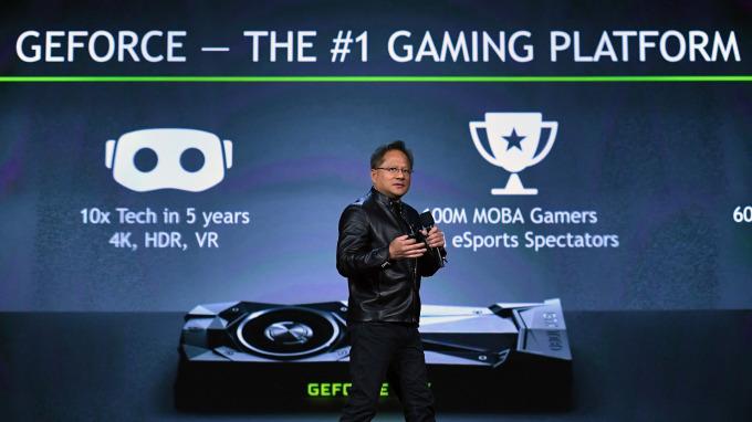 搶進遊戲串流服務市場 Nvidia正式上線GeForce NOW(圖片:AFP)