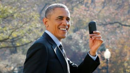 〈鉅亨看世界〉黑莓機掰掰 (圖片:AFP)