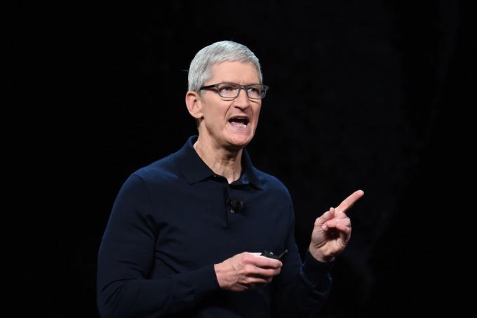 蘋果執行長庫克 (圖片:AFP)