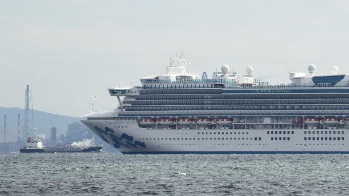 船上現群聚感染!日本郵輪大增41名確診病例 (圖片:AFP)