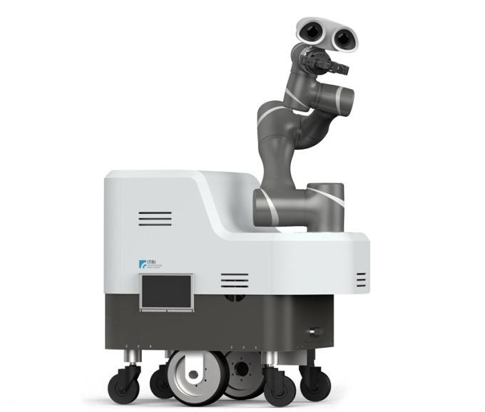 行動手臂式機器人系統。