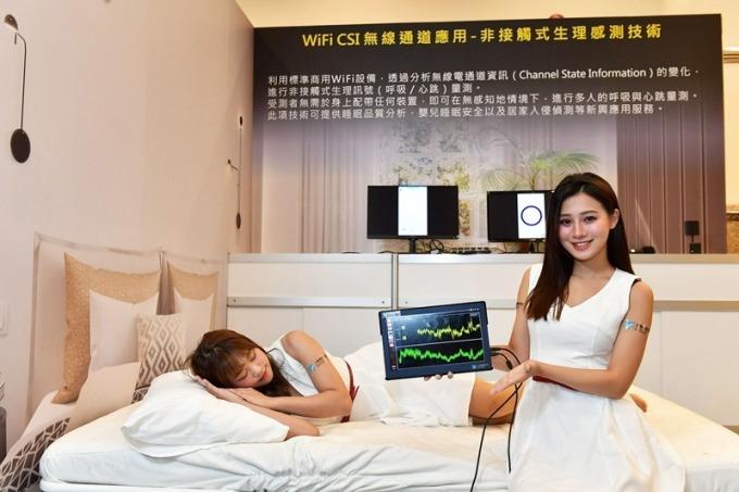 智慧睡眠科技,減緩呼吸中止。