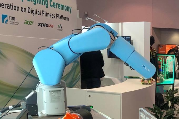 機器人觸覺安全皮膚,人機協作好安全。
