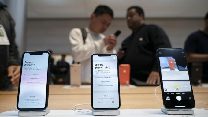 考量疫情現狀 蘋果將把中國零售店關門時間延長數日(圖:AFP)