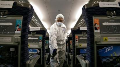 武漢肺炎疫情延燒,各類防疫產品熱度瞬間竄升。(圖:AFP)