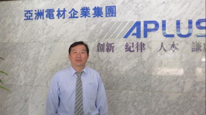 亞電董事長李建輝。(圖:公司提供)