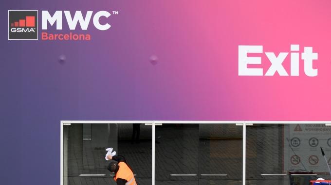 更新!2020 MWC 大會宣布停辦 (圖片:AFP)