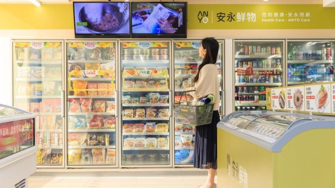 7-ELEVEN冷凍旗艦店。(圖:統一超提供)