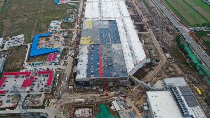 產能未全開 中國製特斯拉1月生產仍逾2600輛!  (圖片:AFP)