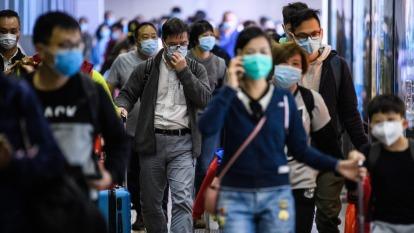 武漢肺炎疫情對觀光和航空業衝擊甚鉅。(圖:AFP)