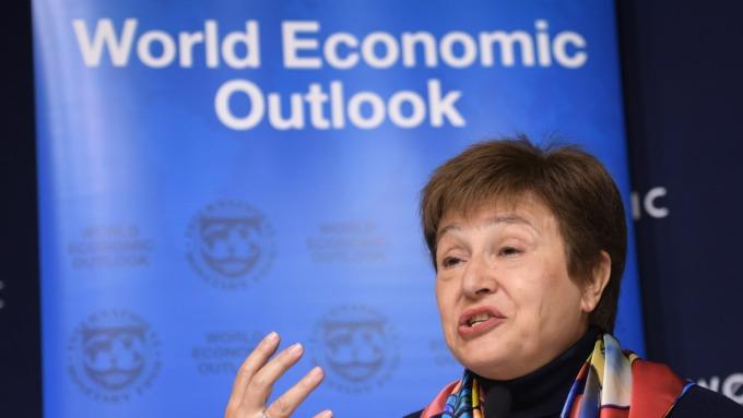 武漢肺炎經濟影響?IMF總裁:未來2週是關鍵期。(圖片:AFP)
