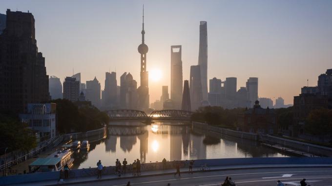 中國推新策略為上海國際金融中心鋪路(圖片:AFP)
