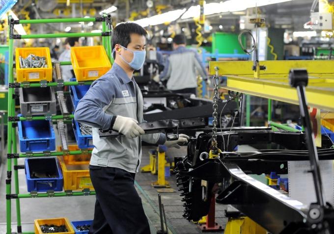 南韓 1 月汽車生產大減 3 成 武漢肺炎恐帶來更嚴重衝擊 (圖片:AFP)