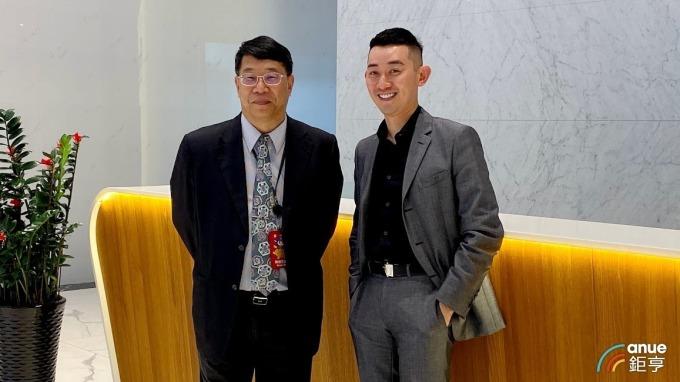 左為葡萄王生物科技研究院長陳勁初,右為董事長曾盛麟。(鉅亨網資料照)