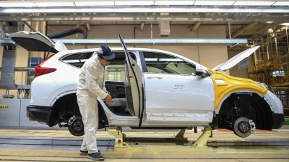 多家跨國車企表態中國工廠復工 努力擴大產能(圖:AFP)