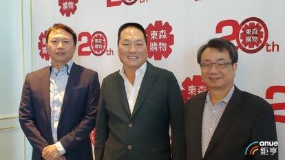 東森購物董事長王令麟(中)。(鉅亨網資料照)