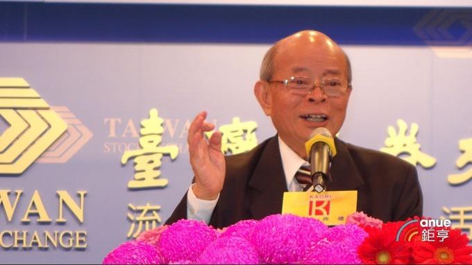 高力熱處理董事長韓顯壽。(鉅亨網記者張欽發攝)