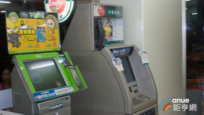中信銀行ATM跨行存款交易年成長25% 新北市使用最多。(鉅亨網資料照)