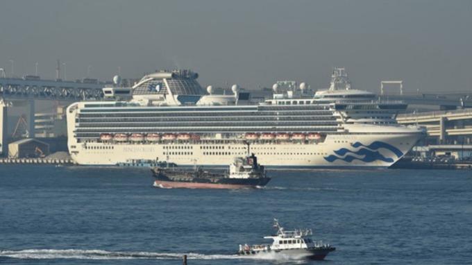 傳華航專機19日將載回鑽石公主號台人 外交部:仍與日方交涉中。(圖:AFP)