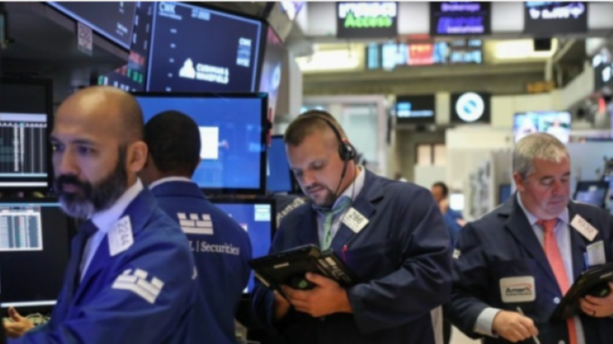 蘋果降財測股價下跌逾2%、台積電ADR大跌逾3% (圖:AFP)