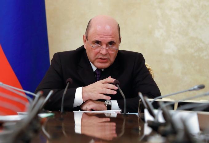 俄羅斯總理米舒斯京 (Mikhail Mishustin) (圖片:AFP)
