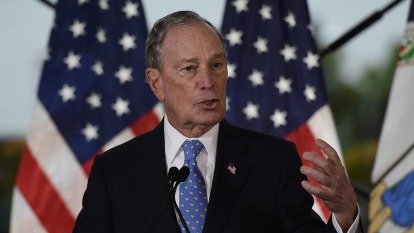 彭博承諾若當選美國總統,將出售一手創立的Bloomberg LP。(圖:AFP)