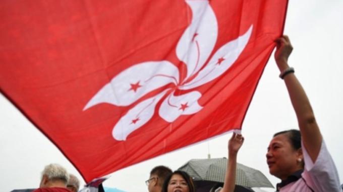 武漢肺炎撞香港 估創史上首見「連兩年」經濟衰退 (圖片:AFP)